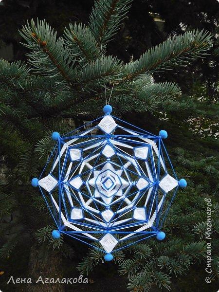 Добрый всем день или вечер ! Наплелись у меня снежинки-мандалы, скоро уже не за горами Новый год и Рождество! фото 1