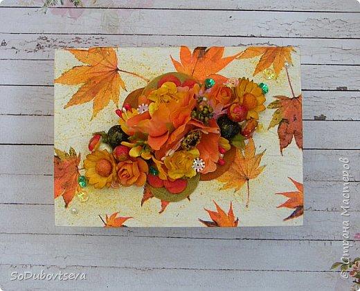 """мои работы для игры """"Осенний обмен открытками"""" фото 2"""