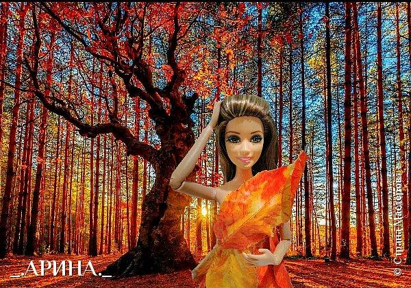 """Привет дорогая страна мастеров! Сегодня мы пришли с работой на конкурс, тема которого: """"Королева"""". Валерич сегодня в образе королевы леса. Она охраняет этот лес от всяких бед (пожары, вырубка). Все животные, обитающие в этом лесу, слушаются и подчиняются Валерии. фото 1"""