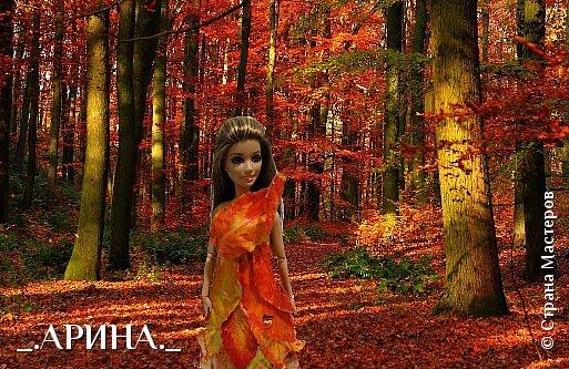 """Привет дорогая страна мастеров! Сегодня мы пришли с работой на конкурс, тема которого: """"Королева"""". Валерич сегодня в образе королевы леса. Она охраняет этот лес от всяких бед (пожары, вырубка). Все животные, обитающие в этом лесу, слушаются и подчиняются Валерии. фото 3"""