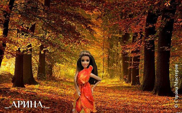 """Привет дорогая страна мастеров! Сегодня мы пришли с работой на конкурс, тема которого: """"Королева"""". Валерич сегодня в образе королевы леса. Она охраняет этот лес от всяких бед (пожары, вырубка). Все животные, обитающие в этом лесу, слушаются и подчиняются Валерии. фото 2"""