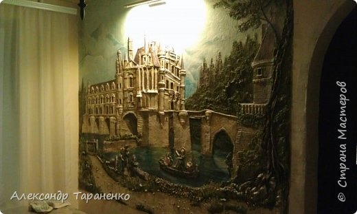 """Барельеф на стене """" Замок Луары"""" фото 1"""