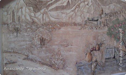 """Барельеф на стене """" Монастырь """" Хор- Вирап! фото 2"""