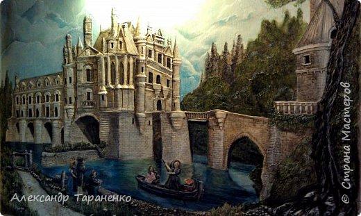 """Барельеф на стене """" Замок Луары"""" фото 2"""