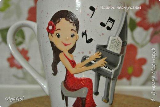 "Кружка ""Фортепиано"" фото 2"