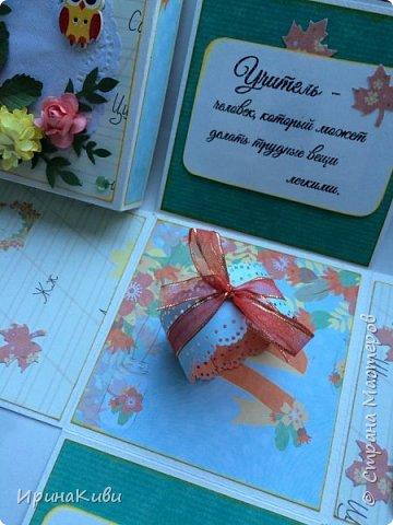 """Вот такая серия осенних открыток их набора скрап-бумаги """"Дыхание осени"""" от FLEUR-design. фото 11"""