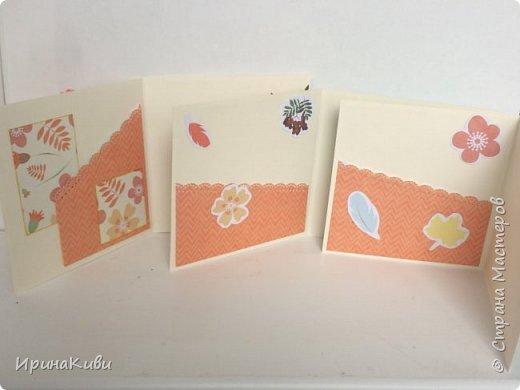 """Вот такая серия осенних открыток их набора скрап-бумаги """"Дыхание осени"""" от FLEUR-design. фото 2"""