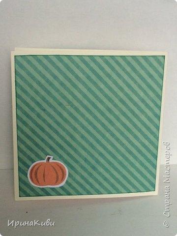 """Вот такая серия осенних открыток их набора скрап-бумаги """"Дыхание осени"""" от FLEUR-design. фото 5"""