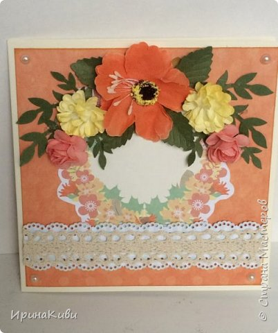 """Вот такая серия осенних открыток их набора скрап-бумаги """"Дыхание осени"""" от FLEUR-design. фото 3"""