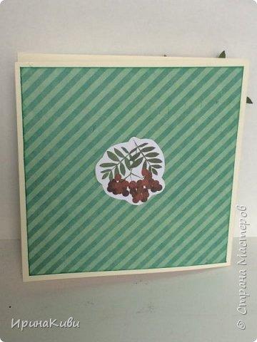 """Вот такая серия осенних открыток их набора скрап-бумаги """"Дыхание осени"""" от FLEUR-design. фото 7"""