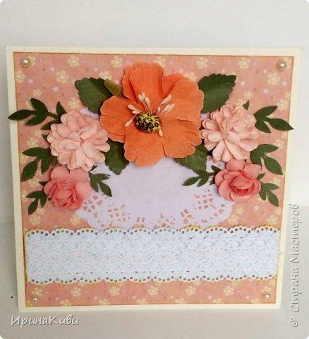 """Вот такая серия осенних открыток их набора скрап-бумаги """"Дыхание осени"""" от FLEUR-design. фото 8"""