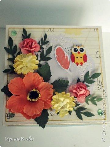 """Вот такая серия осенних открыток их набора скрап-бумаги """"Дыхание осени"""" от FLEUR-design. фото 10"""