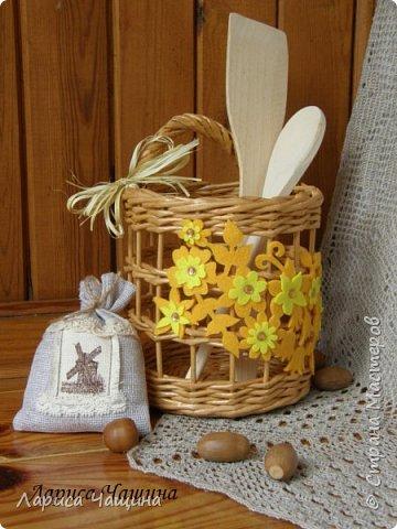 Маленькие корзинки - игольницы. фото 3