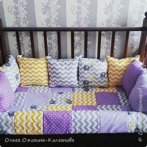 Набор к кроватку фото 2