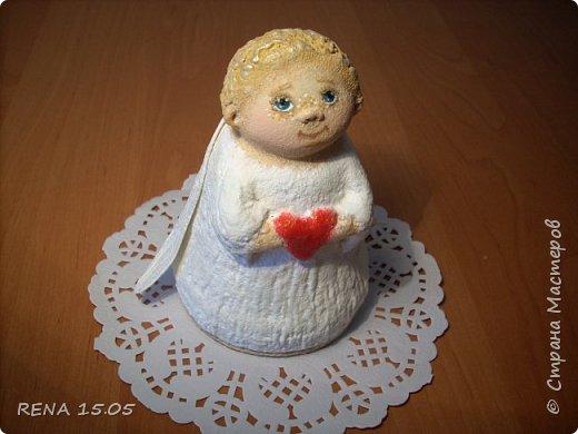 Малыш был создан в подарок. Надеюсь он будет хранить любовь в новом доме и оберегать свою новую маму. фото 2