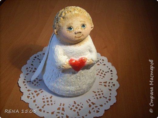 Малыш был создан в подарок. Надеюсь он будет хранить любовь в новом доме и оберегать свою новую маму. фото 3