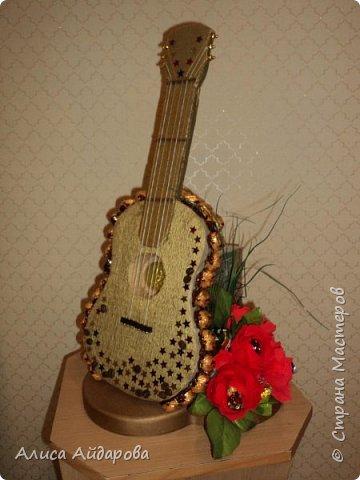 гитара и кофе для мужчины музыканта фото 1
