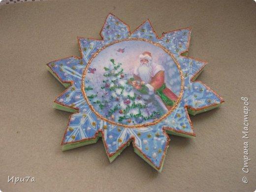 Саночки из потолочной плитки по МК Татьяны Чимбирь. фото 6