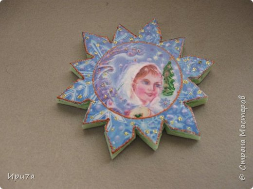Саночки из потолочной плитки по МК Татьяны Чимбирь. фото 8