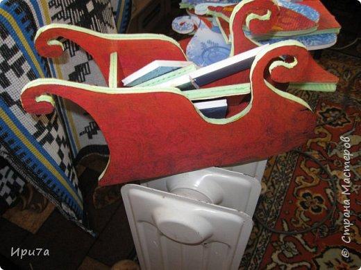 Саночки из потолочной плитки по МК Татьяны Чимбирь. фото 5