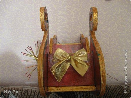 Саночки из потолочной плитки по МК Татьяны Чимбирь. фото 4