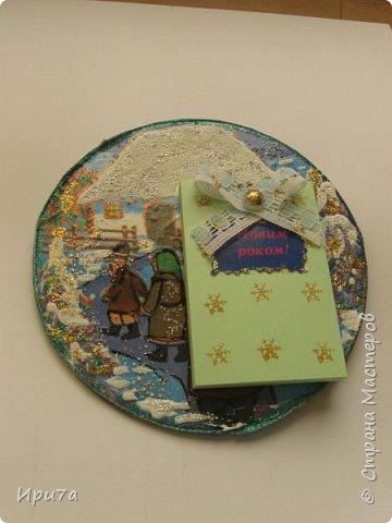 Саночки из потолочной плитки по МК Татьяны Чимбирь. фото 23