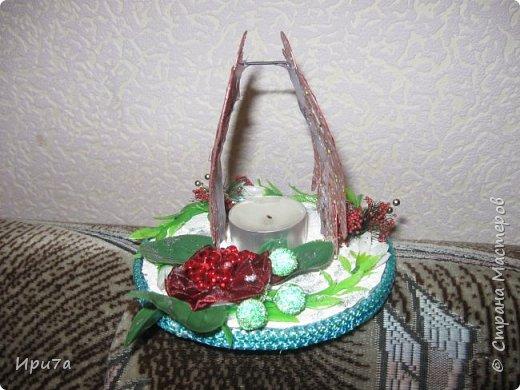 Саночки из потолочной плитки по МК Татьяны Чимбирь. фото 16