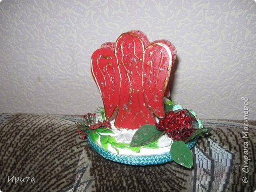 Саночки из потолочной плитки по МК Татьяны Чимбирь. фото 14