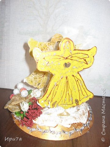 Саночки из потолочной плитки по МК Татьяны Чимбирь. фото 15
