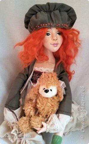 Всем Привет!Я к вам с новой куколкой!Очень славная девочка получилась! фото 3