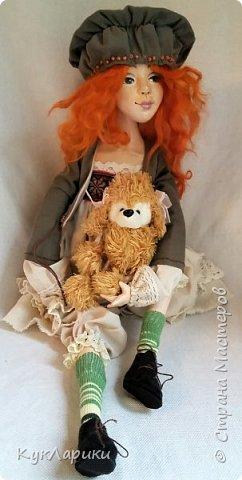 Всем Привет!Я к вам с новой куколкой!Очень славная девочка получилась! фото 1