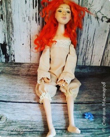 Всем Привет!Я к вам с новой куколкой!Очень славная девочка получилась! фото 7