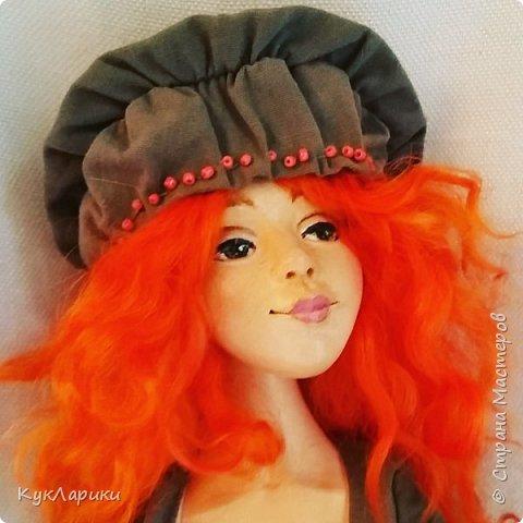Всем Привет!Я к вам с новой куколкой!Очень славная девочка получилась! фото 5