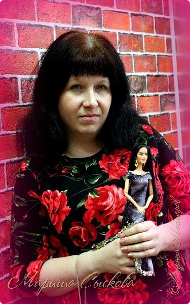Готовились мы тут с куклами к осеннему балу)) Девчонки все в паетках!) фото 28