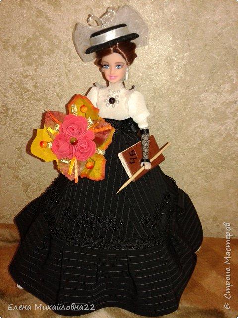 Кукла шкатулка ко Дню учителя (N49) фото 8