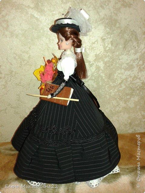 Кукла шкатулка ко Дню учителя (N49) фото 6