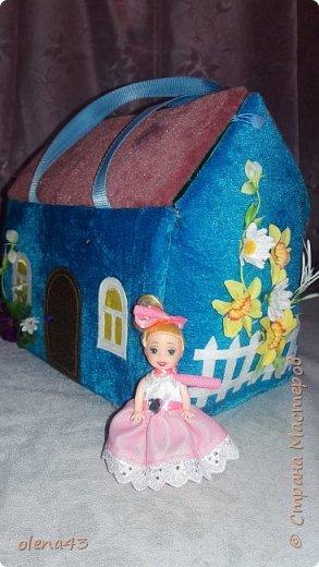 Наконец-то я решилась соорудить сумку-домик.Перелопатила уйму материала,собрала мысли,преодолела страх.И вот... фото 4