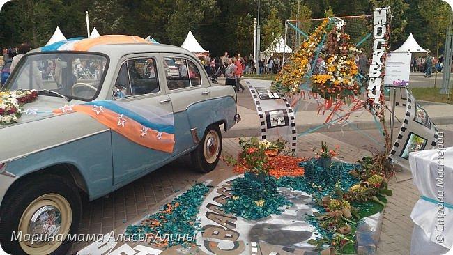 В начале сентября мы опять побывали на выставке Воронеж город сад!В этом году она была 4 дня!Очень понравилось!Мы два дня там гуляли! Самое любимое детьми-это прыгать по сену! фото 3