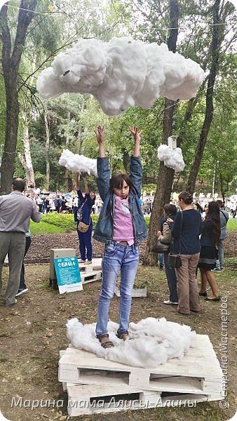 В начале сентября мы опять побывали на выставке Воронеж город сад!В этом году она была 4 дня!Очень понравилось!Мы два дня там гуляли! Самое любимое детьми-это прыгать по сену! фото 13