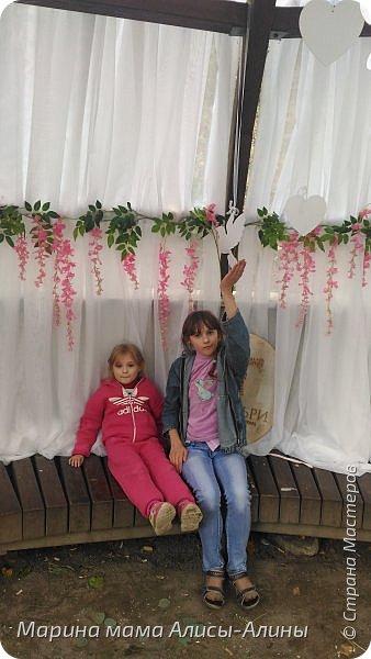 В начале сентября мы опять побывали на выставке Воронеж город сад!В этом году она была 4 дня!Очень понравилось!Мы два дня там гуляли! Самое любимое детьми-это прыгать по сену! фото 15