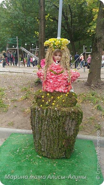 В начале сентября мы опять побывали на выставке Воронеж город сад!В этом году она была 4 дня!Очень понравилось!Мы два дня там гуляли! Самое любимое детьми-это прыгать по сену! фото 17