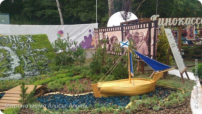 В начале сентября мы опять побывали на выставке Воронеж город сад!В этом году она была 4 дня!Очень понравилось!Мы два дня там гуляли! Самое любимое детьми-это прыгать по сену! фото 36