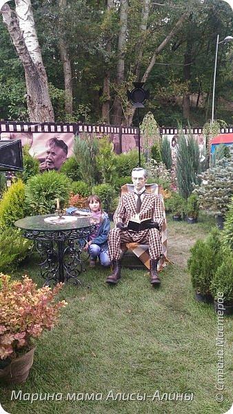 В начале сентября мы опять побывали на выставке Воронеж город сад!В этом году она была 4 дня!Очень понравилось!Мы два дня там гуляли! Самое любимое детьми-это прыгать по сену! фото 37