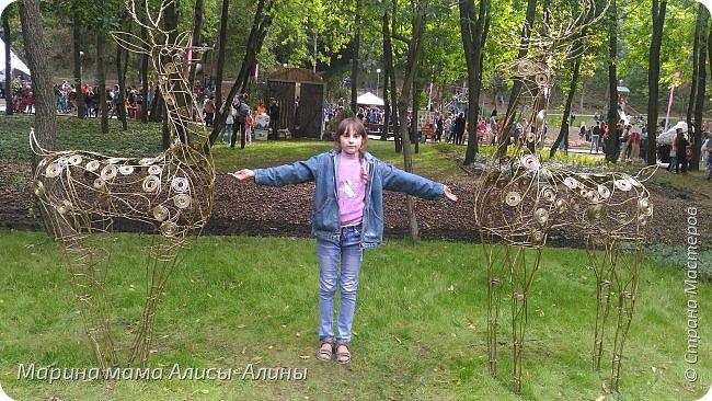 В начале сентября мы опять побывали на выставке Воронеж город сад!В этом году она была 4 дня!Очень понравилось!Мы два дня там гуляли! Самое любимое детьми-это прыгать по сену! фото 43