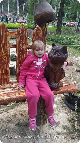 В начале сентября мы опять побывали на выставке Воронеж город сад!В этом году она была 4 дня!Очень понравилось!Мы два дня там гуляли! Самое любимое детьми-это прыгать по сену! фото 52