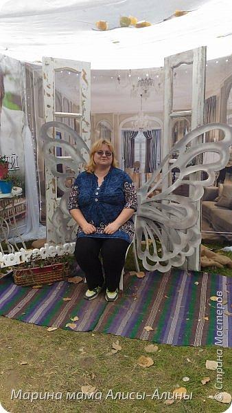 В начале сентября мы опять побывали на выставке Воронеж город сад!В этом году она была 4 дня!Очень понравилось!Мы два дня там гуляли! Самое любимое детьми-это прыгать по сену! фото 57