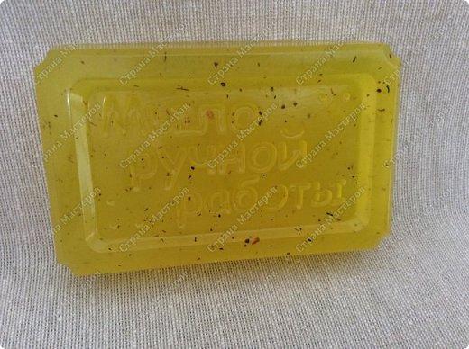 Вот такое мыльце у меня получилось. Моё медовое мыло.  Питательное мыло из натурального пчелиного меда прекрасно увлажняет кожу, устраняет шелушение и сухость, насыщает огромным количеством микроэлементов, витаминов и минералов. Натуральное медовое мыло придает коже гладкость, бархатистость и здоровый вид. фото 3