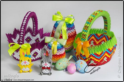 3d origami easter фото 1