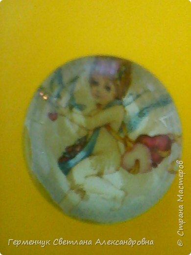 """Аппликацию на стеклянных камешках  придумала и выполнила  Катя К Людмила Витальева написала стихотворение """"Капля воды"""" Капля воды на раскрытой ладошке,в ней отражается небо немножко, фото 2"""