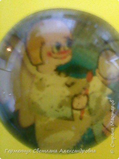 """Аппликацию на стеклянных камешках  придумала и выполнила  Катя К Людмила Витальева написала стихотворение """"Капля воды"""" Капля воды на раскрытой ладошке,в ней отражается небо немножко, фото 6"""